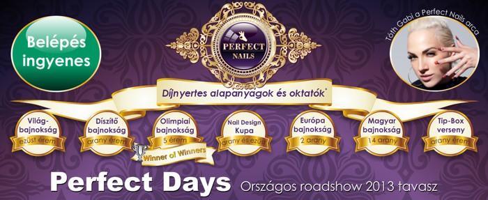 Perfect Days 2013 tavasz
