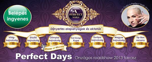 Perfect Days országos tavaszi roadshow